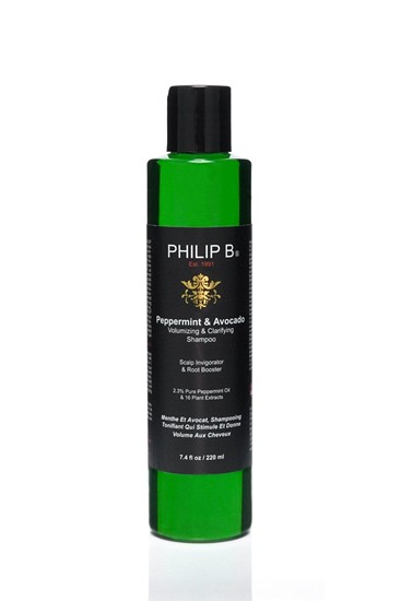 Peppermint Avocado Shampoo Philip B Hot 10