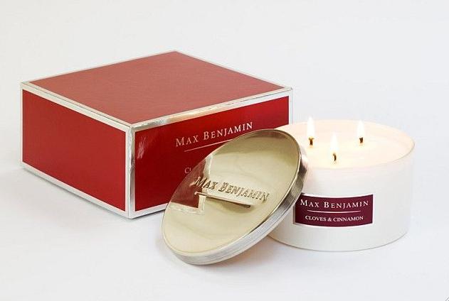 Max Benjamin Duftkerze Gloves & Cinnamon