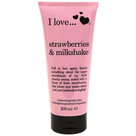 I love... strawberries & milkshake Bodylotion