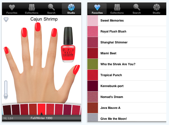 OPI beauty app iphone itunes
