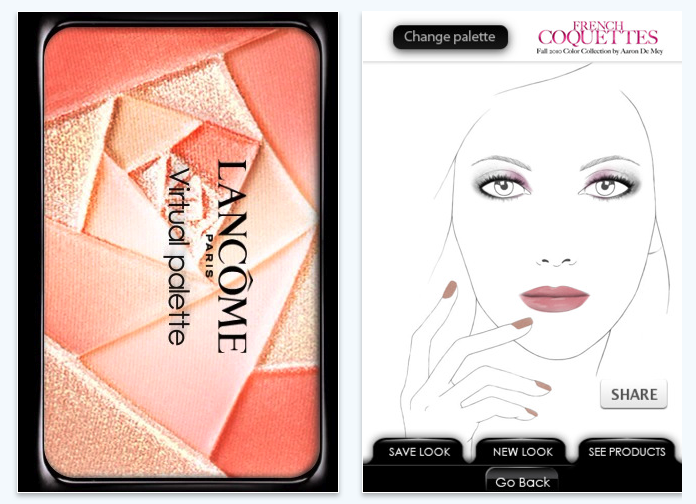 Lancome beauty app iphone