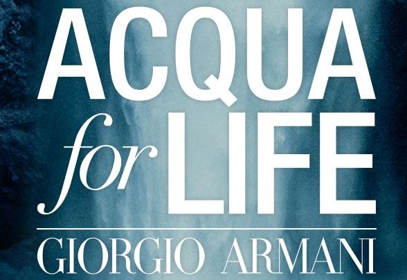 aqua-for-life Armani