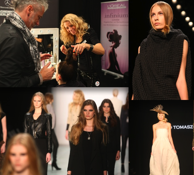 Mercedes Benz Fashion Week Berlin Loreal Professional