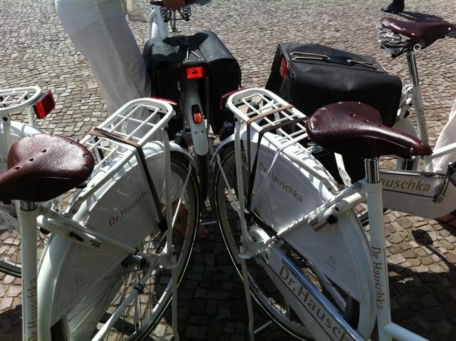 dr-hauschka-mercedes-benz-fashion-week fahrrad