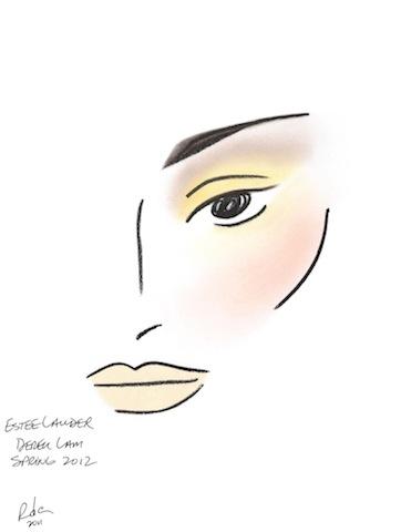 face_chart_derek_lam_spring_2012