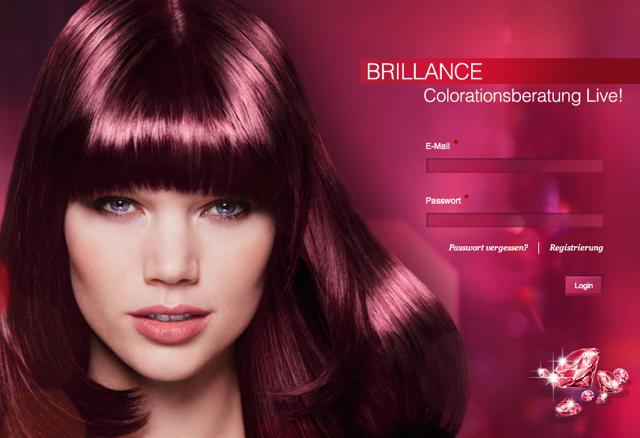 Farbberatung Brillance Live-Chat Schwarzkopf