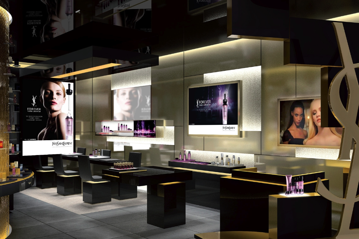 yves saint laurent beauté flagship store