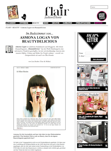 Flair Magazin Beautydelicious