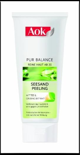 "AOK ""Pure Balance"" Seesand-Peeling"