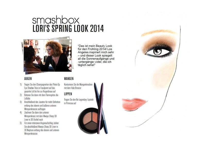 Lori Taylors Frühjahrslook 2014 Smashbox