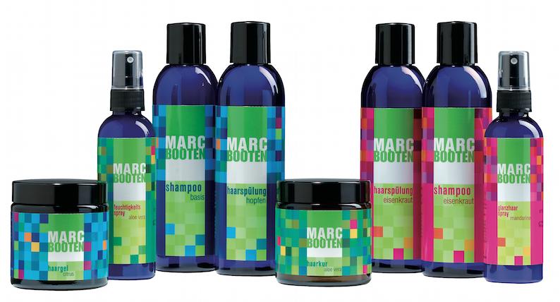 Marc Booten Natürliche Haarpflege