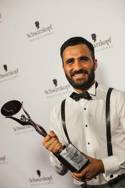 Schwarzkopf_German Hairdresser of the Hair_2014_Mustafa_Yanaz