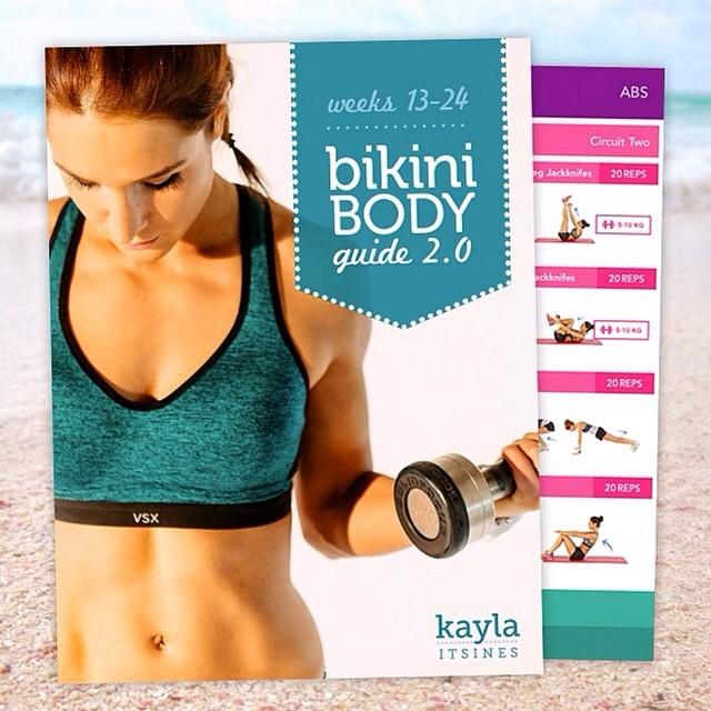 Bikini Body Guide Kayla Itsines