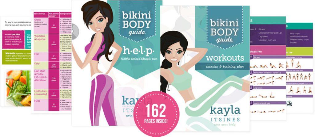 Bikini Body Guide von Kayla Itsines