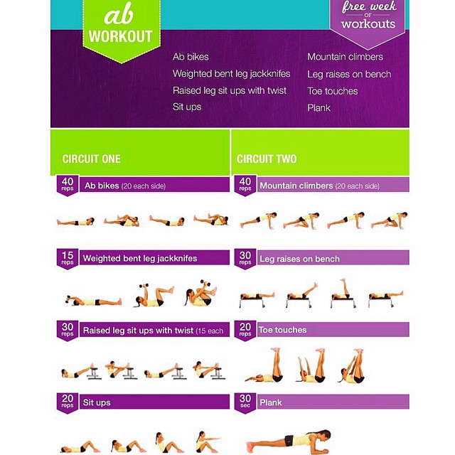 Free Workout Kayla Itsines