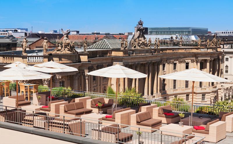 Rooftop Hotel de Rom