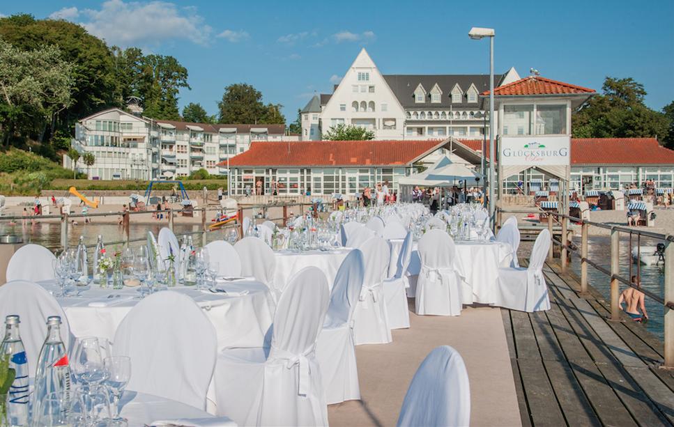 Strandhotel Glücksburg Seebrücke
