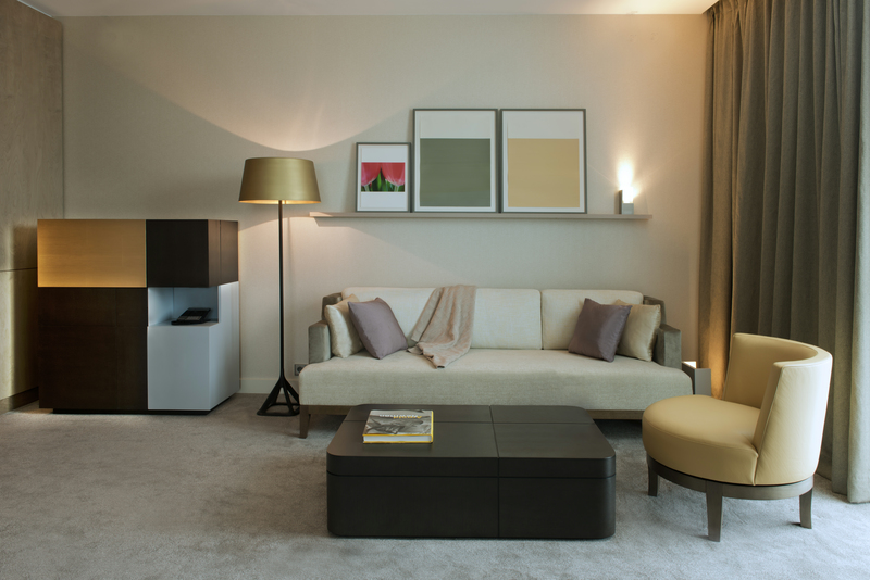 Ritz Carlton Wolfsburg Suite Wohnraum