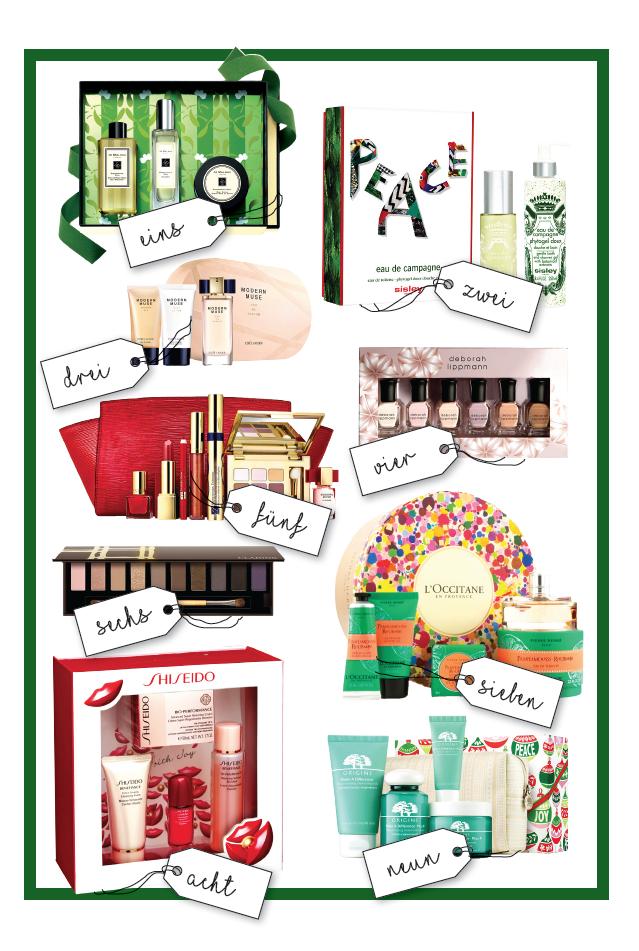 Weihnachtsgeschenke Beautydelicious