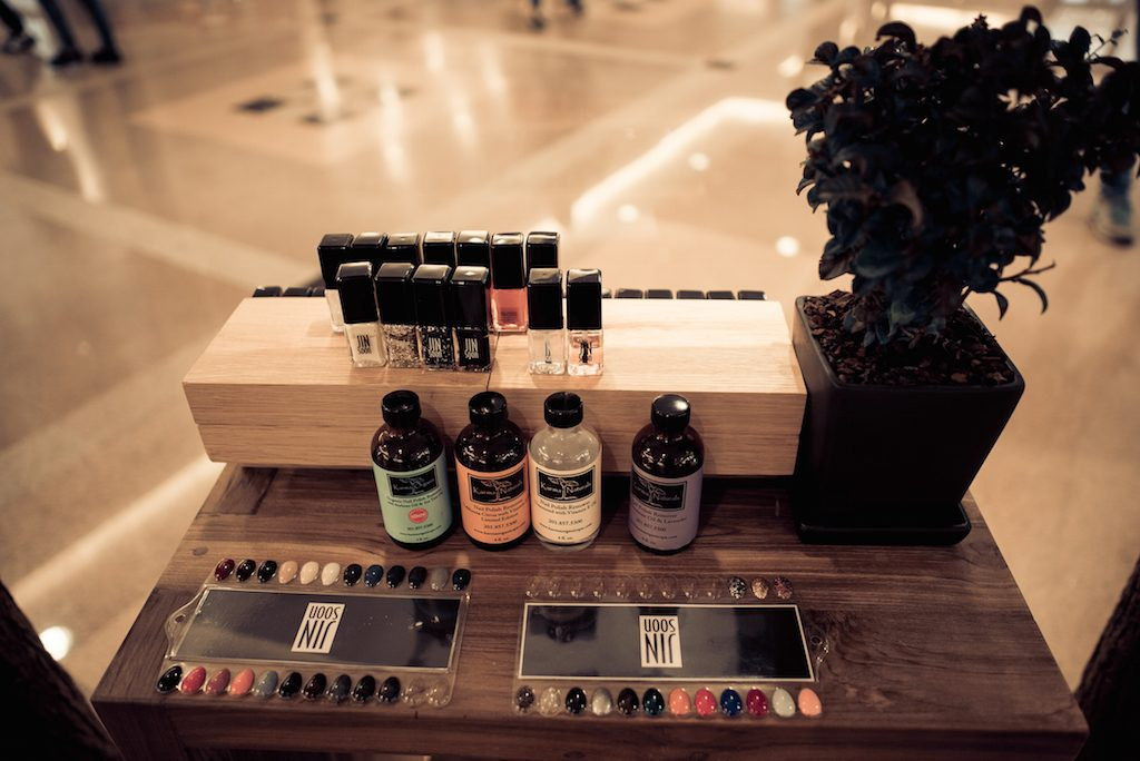 BEYØRG Organic Spa Store Nail Polish Offering