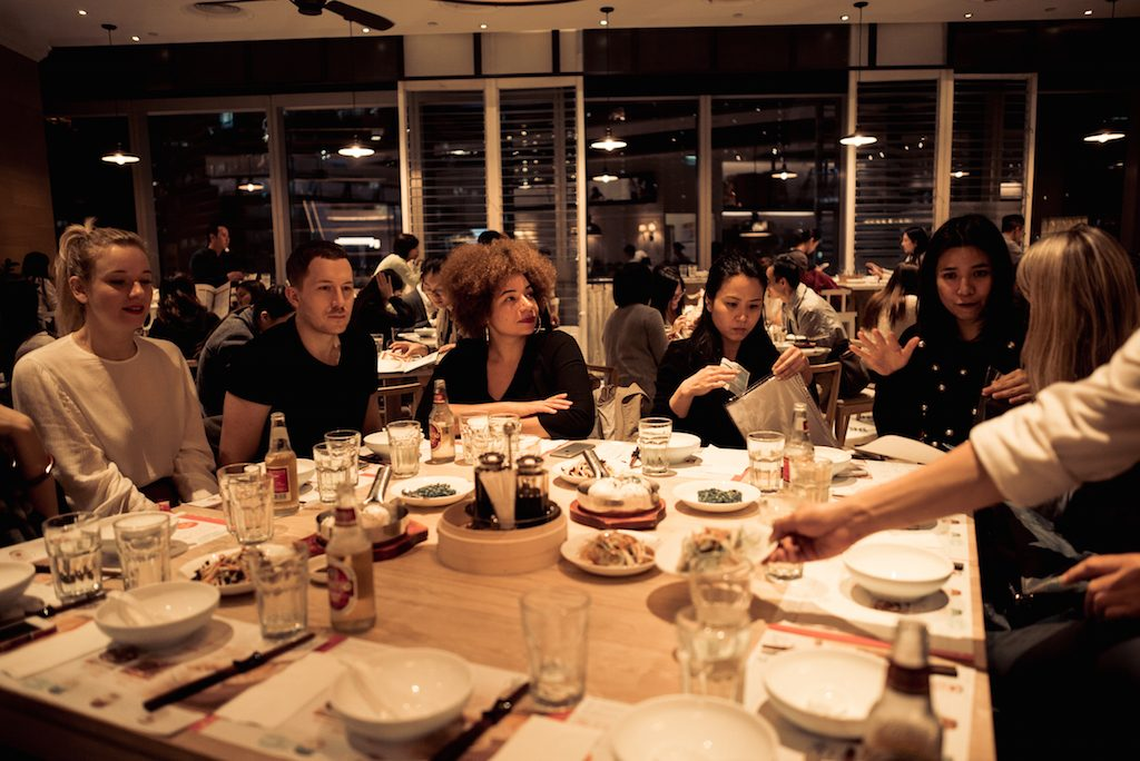 diner for blogger in Hongkong