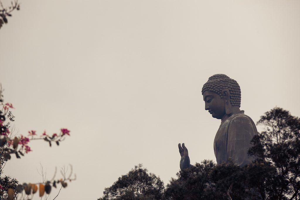 Tian Tan Buddha in Hongkong
