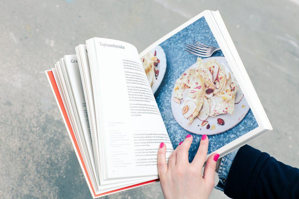 Anna Jones Buch aus Apfelresten für Veganer