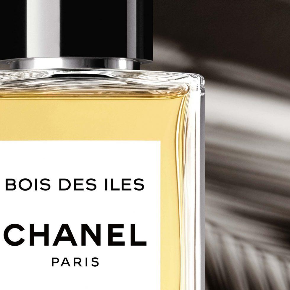 Aufnahme Parfum Chanel Bois des Iles
