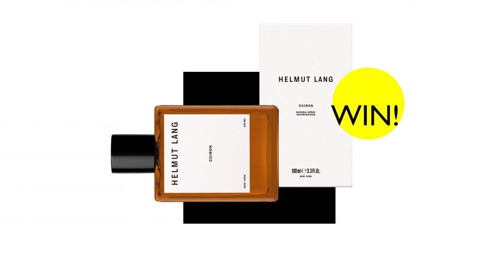 Verlosung Parfum Flakon Helmut Lang Cuiron 100ml