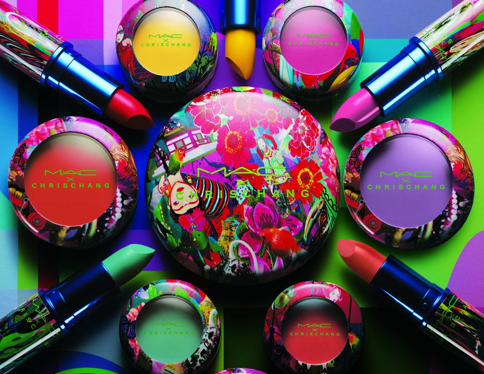 MAC Chris Chang Collection gaudy intense make up