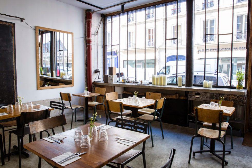 Soya Cantine Bio ein vegetarisches Pariser Restaurant