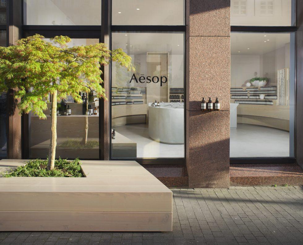 Aesop Store Eröffnung Snøhetta Deutschland Düsseldorf Grabenstraße