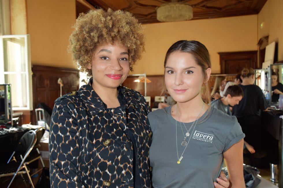 Marisol Caballero Prada trifft Asmona Logan