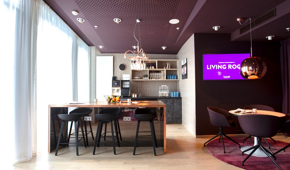 Living Room Scandic Hamburg Emporio