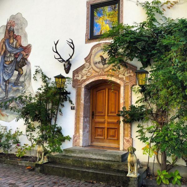 Chiemgauhof Eingang