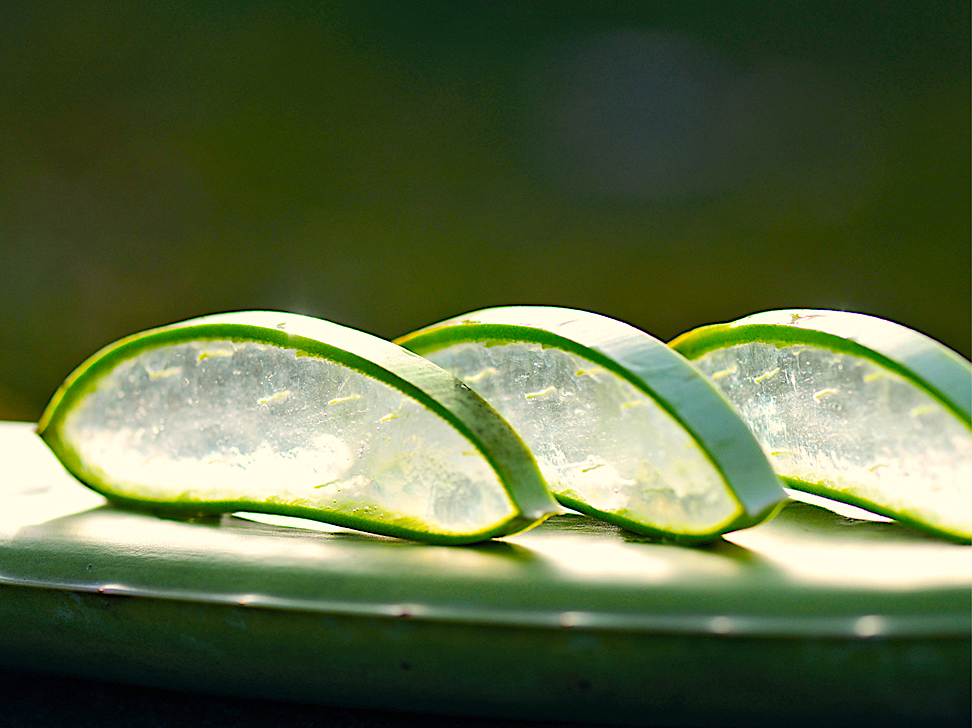 PHARMOS NATUR Green Luxury Aloe vera