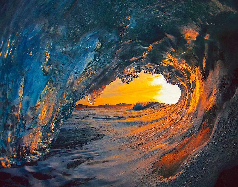 Vor die Welle kommen