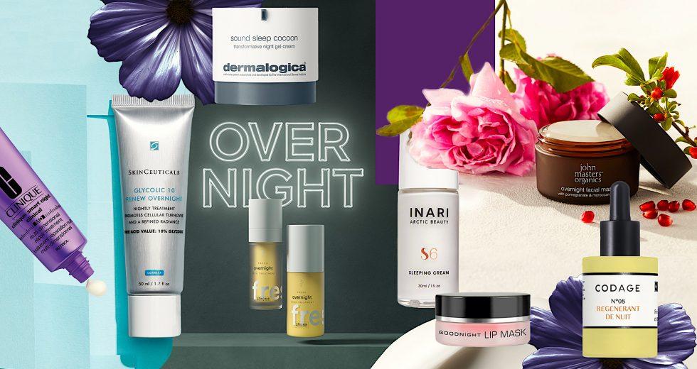Effektive Hautpflege für die Nacht